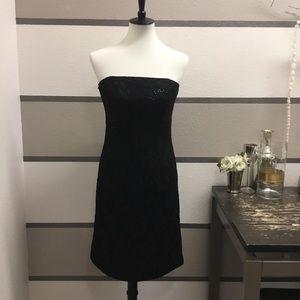 WHBM Little Black Sequin Dress